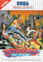 Photo de la boite de Streets of Rage (Master System)